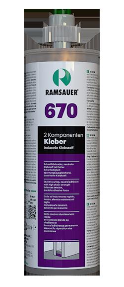 RAMSAUER 670 2-KOMPONENTEN KLEBER