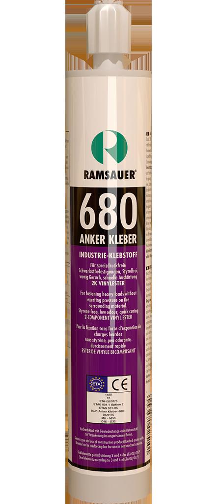 Химический анкер - ANKER KLEBER 680