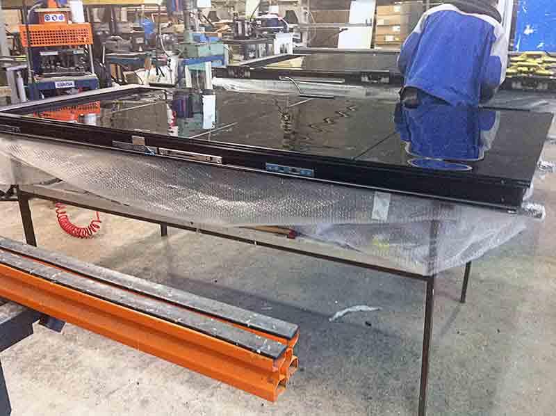 Подготовка поверхности стекла
