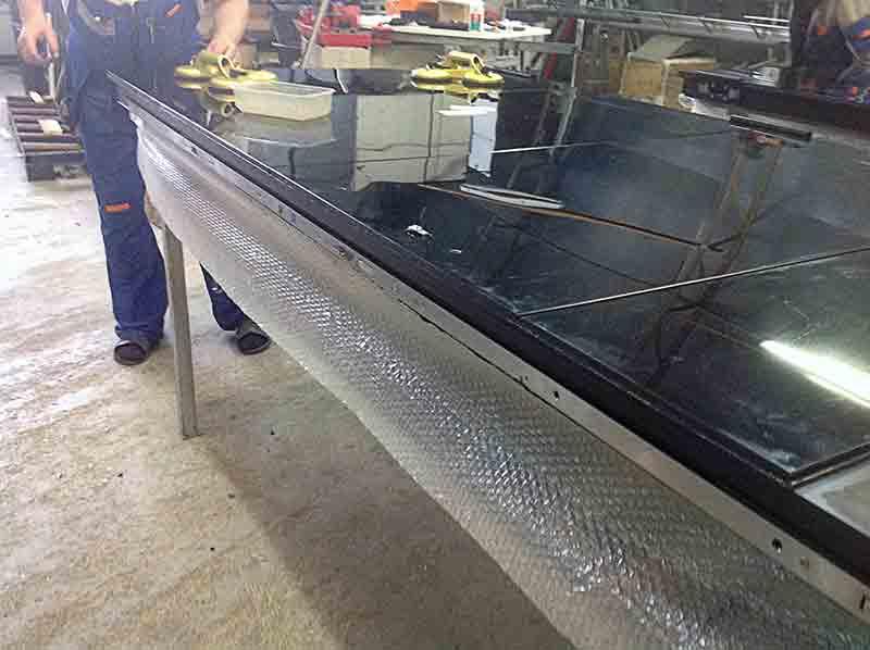 Рекомендация по промышленному склеиванию стекла