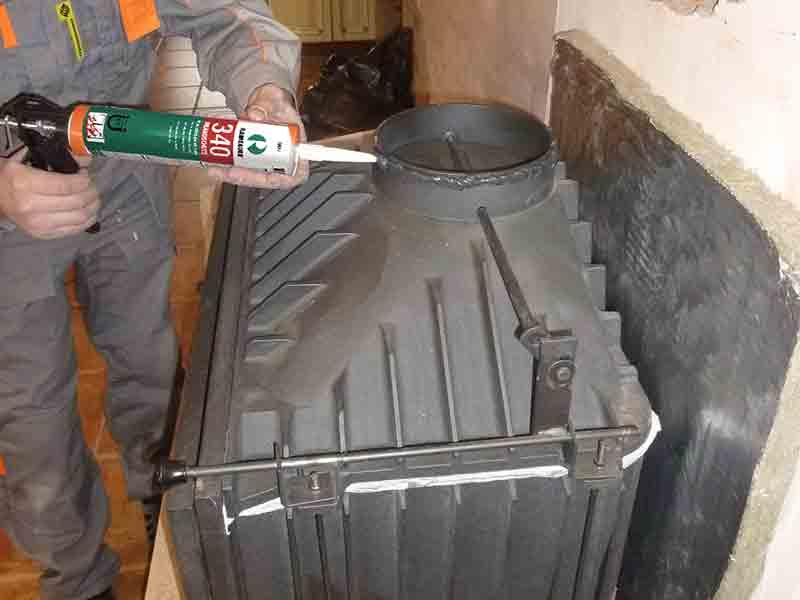термостойкий герметик