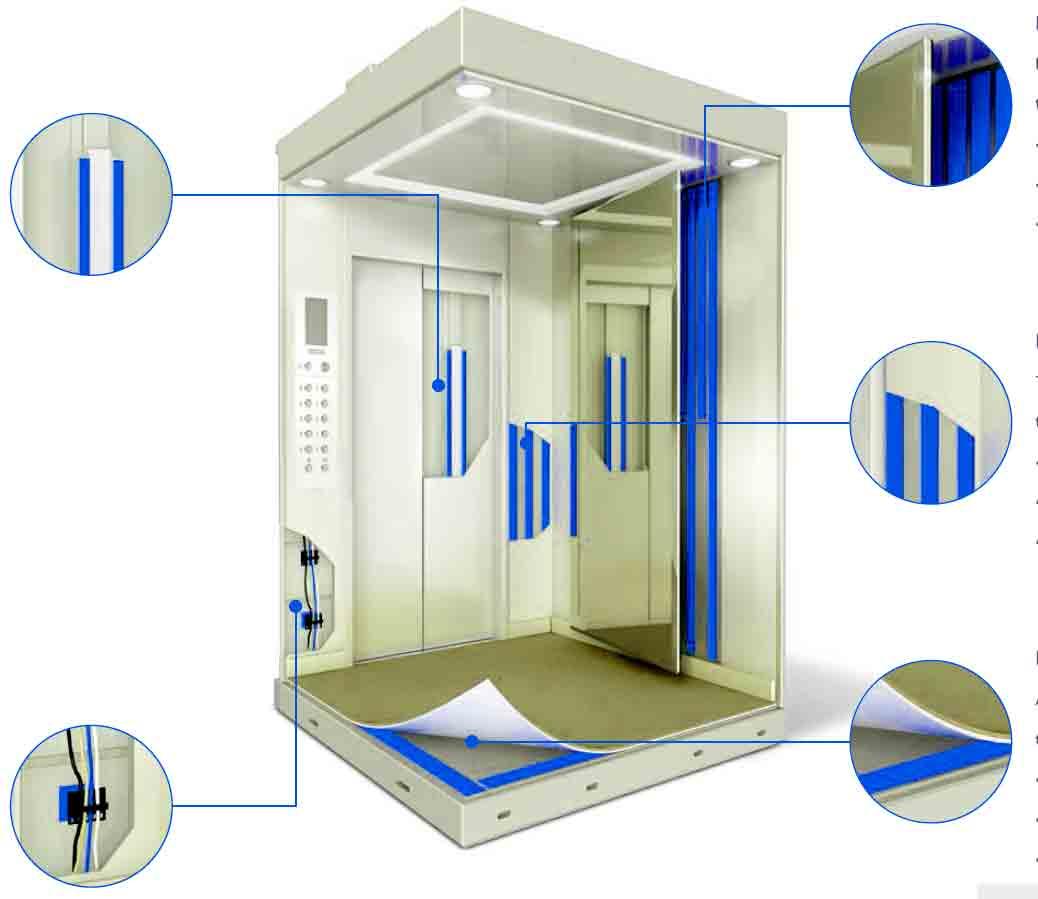 изготовление лифта склеиванием