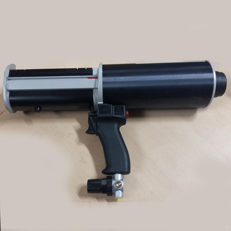 Присоединить пистолет к источнику давления воздуха