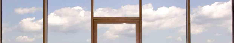 Технология вклеенных стеклянных фасадов на основе деревянных конструкций