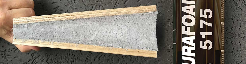 Применение высокоэластичной пены в деревянном и монолитном домостроении