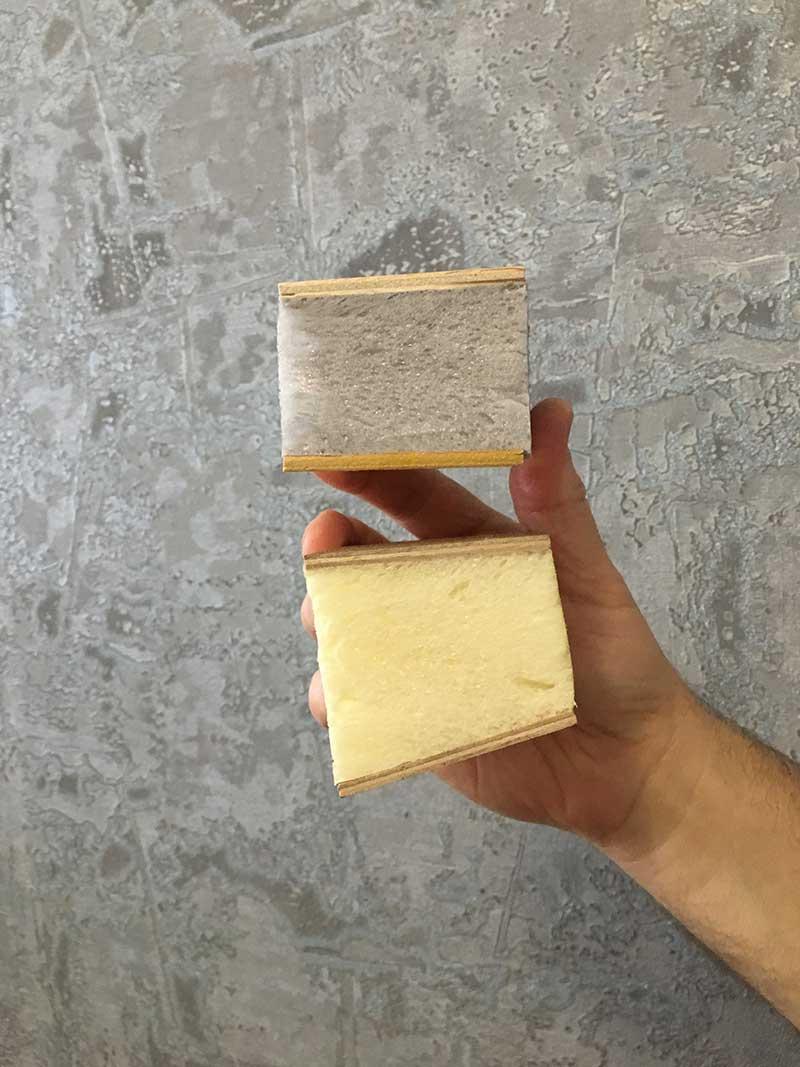 структура эластичной пены