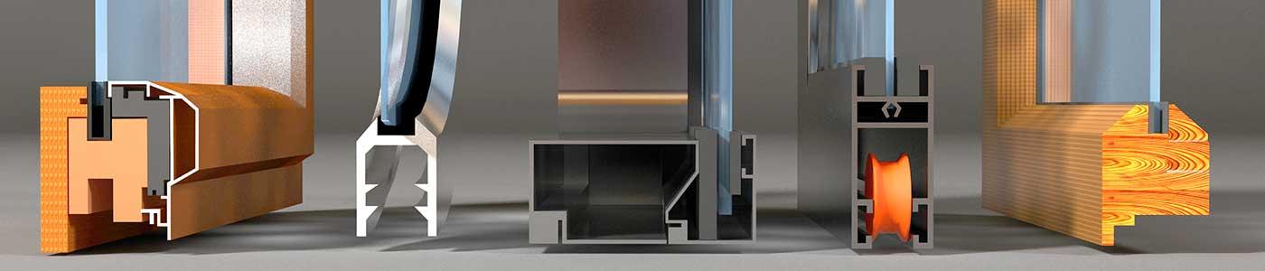 монтажных узлов с применением таких разных материалов, как дерево и стекло