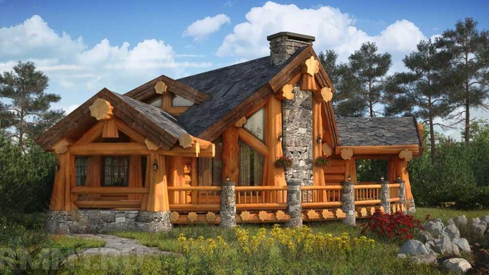 Деревянный дом - это живой организм