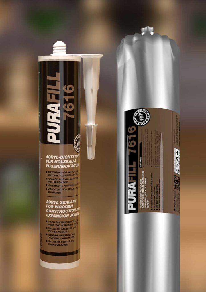 Теплые швы с качественным герметиком PURAFILL 7616