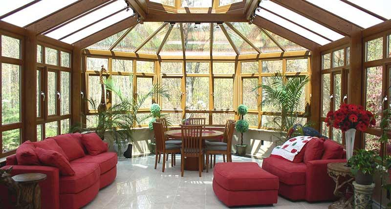 стекла со стеклом на крыше лежит уже на герметике