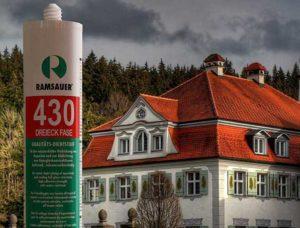 герметика 430 Dreieck Phase позволяет быстро и аккуратно заполнять полость шва