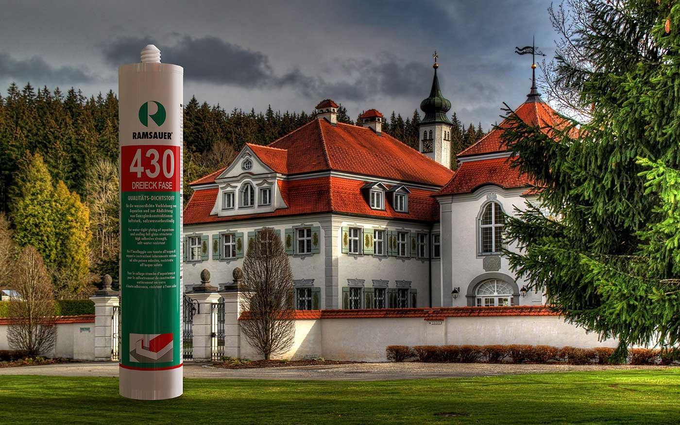 Фасочный реставрационный герметик для остекления объектов культурного наследия