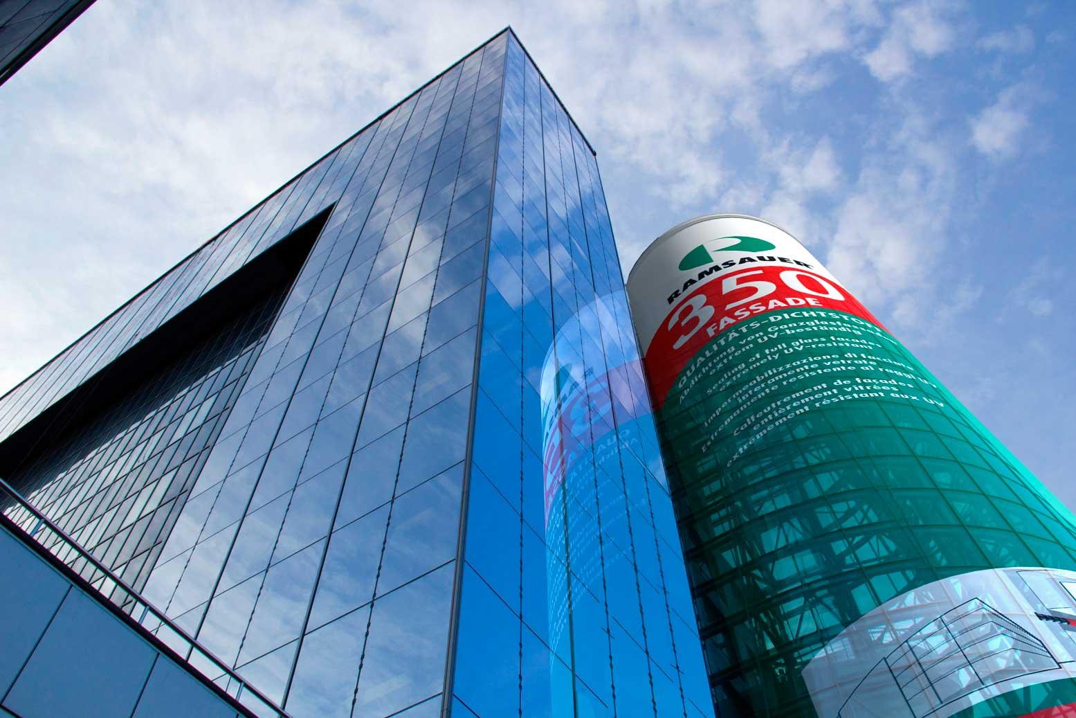 фасадный силикон для стекла Ramsauer 350 FASSADE