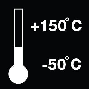 3. Выдерживает широкий диапазон температур