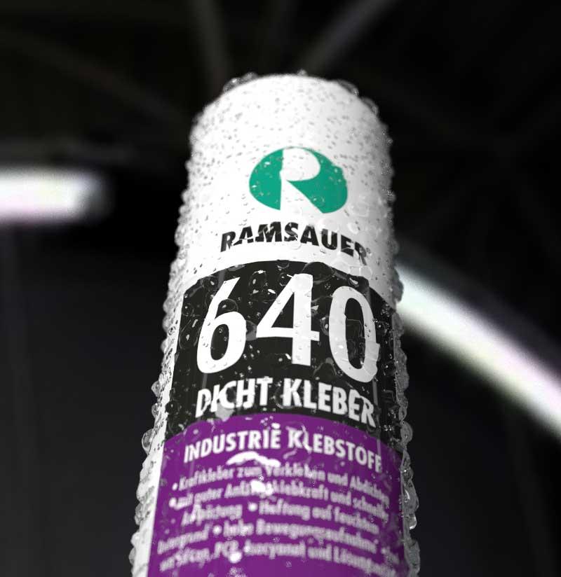 Индустриальные монтажный клеи Ramsauer 640