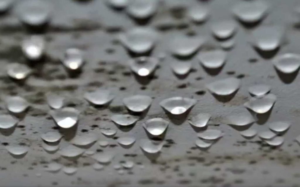 плесени и влага на пластиковом окне