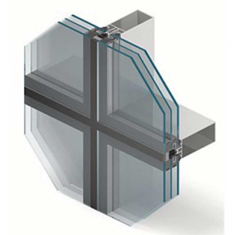 остекление стеклянного фасада