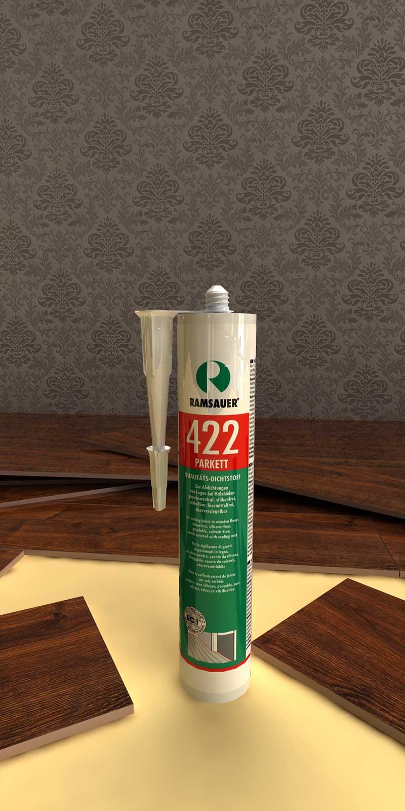 высококачественные эластичные специальные герметики RAMSAUER® 422 PARKETT