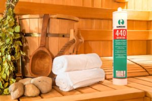 использование герметика для саун и бань