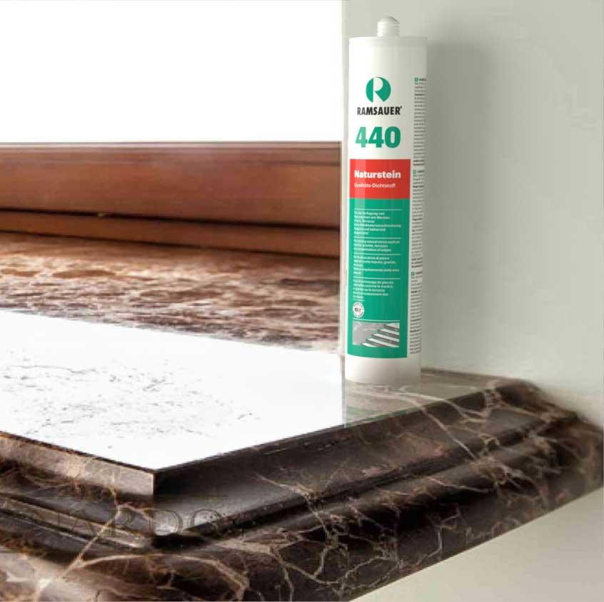 герметик для природного камня RAMSAUER® 440 NATURSTEIN