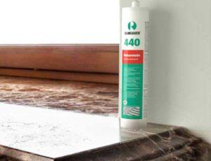 RAMSAUER® 440 NATURSTEIN не загрязняет краевые зоны