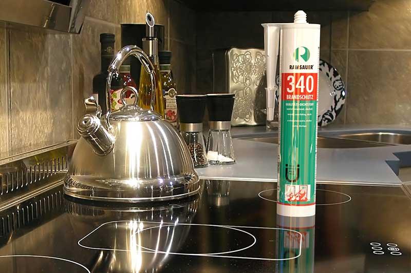 Огнестойкий герметик RAMSAUER® 340