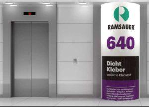 RAMSAUER® 640 DICHT KLEBER для склеивания металлов.