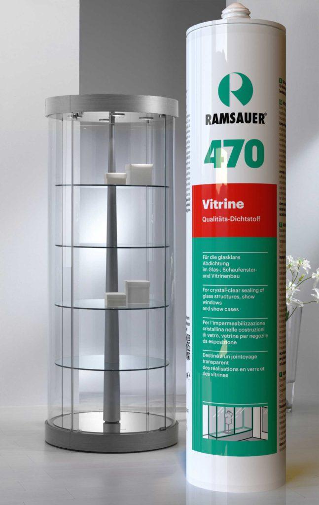 Сферы использования и правила применения Ramsauer® 470 VITRINE