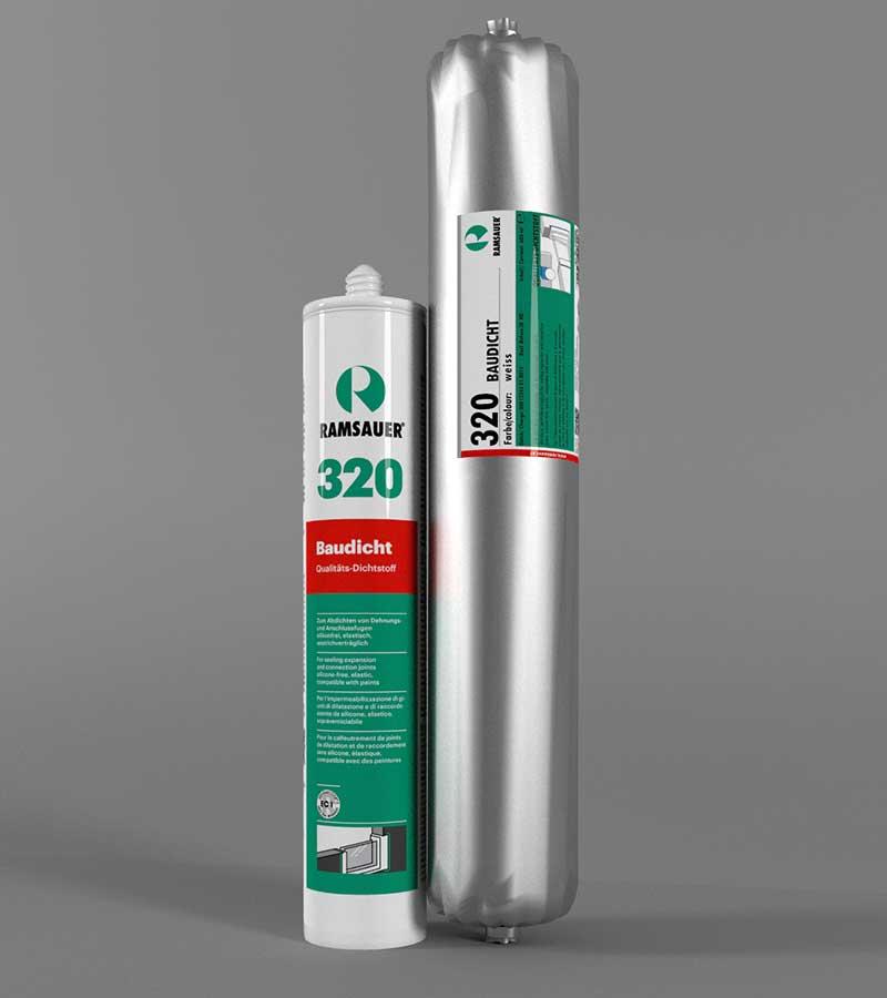 Герметик Ramsauer® 320 BAUDICHT подходит для использования в следующих сферах применения