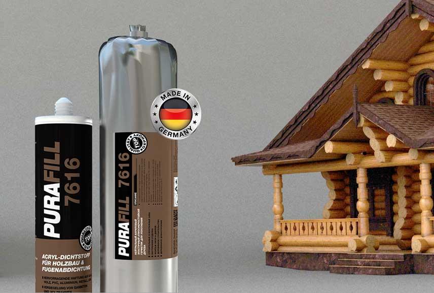Области применения высококачественно акрилового герметика PURAFILL® 7616