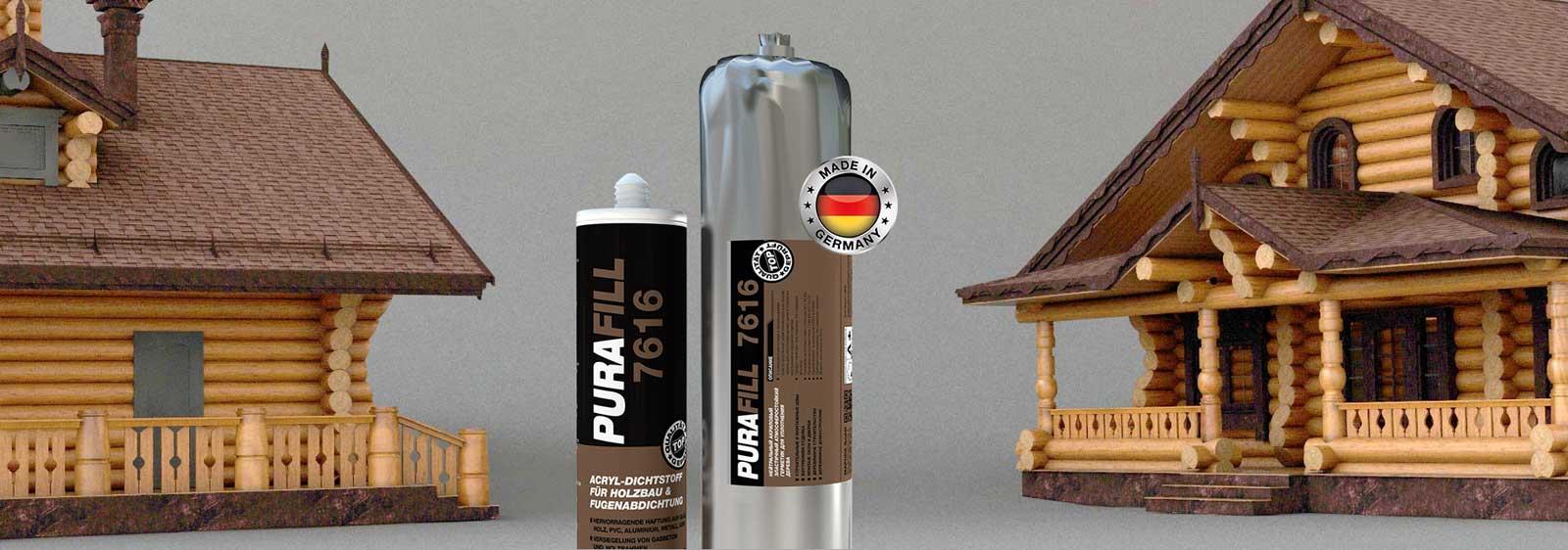 Теплый акриловый герметик (или теплый шов) PURAFILL® 7616