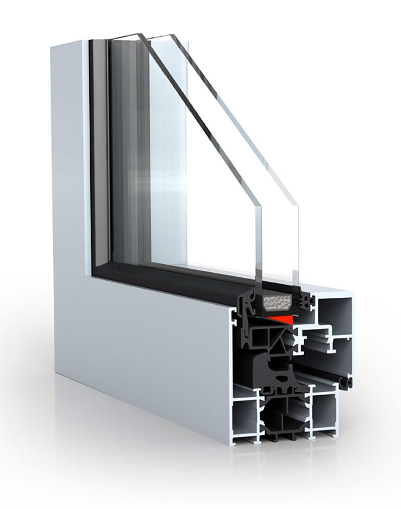Вклеивание стеклопакетов клеем в окна и двери из алюминия