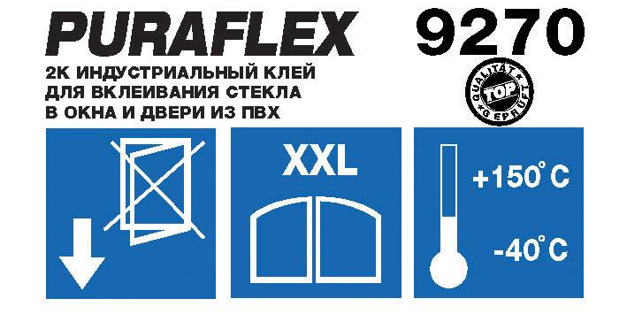 2К клея для вклеивания PURAFLEX® 9270