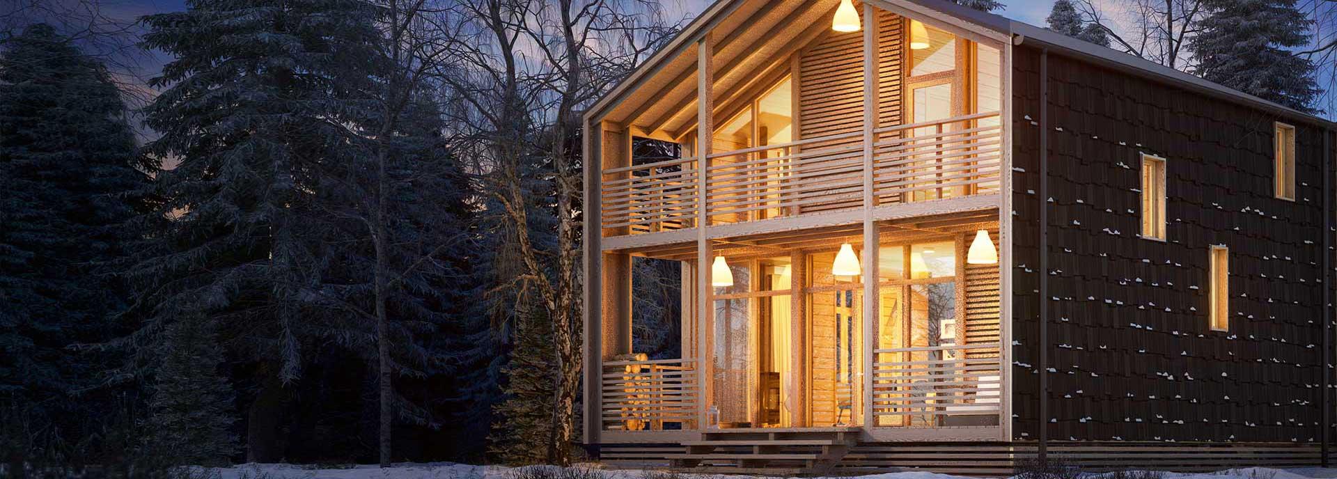 Строительная химия в деревянном домостроении
