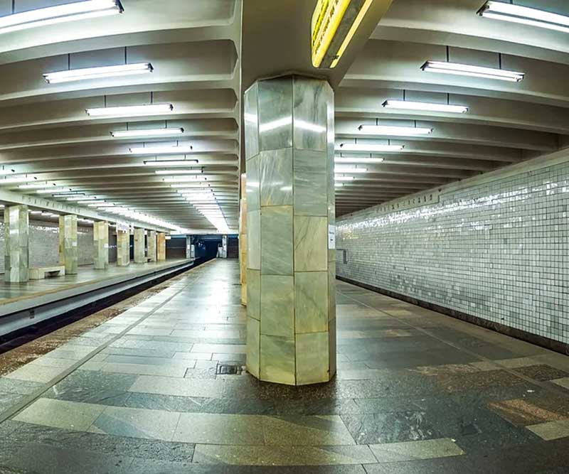 плитка в метро