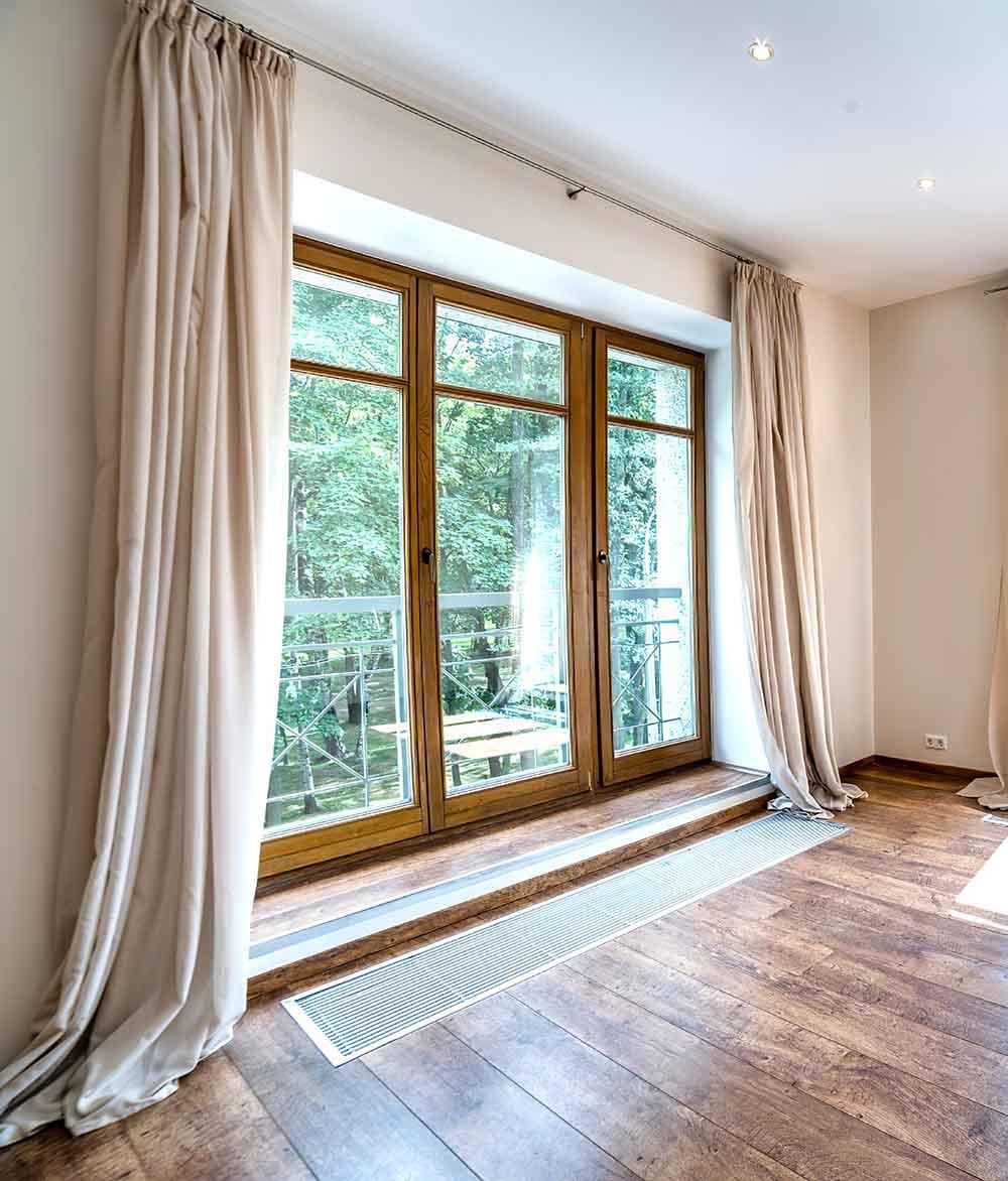 Вклеенное стекло как конструктивный материал окна