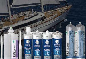 Герметики и клеи для морского применения в маломерных судах