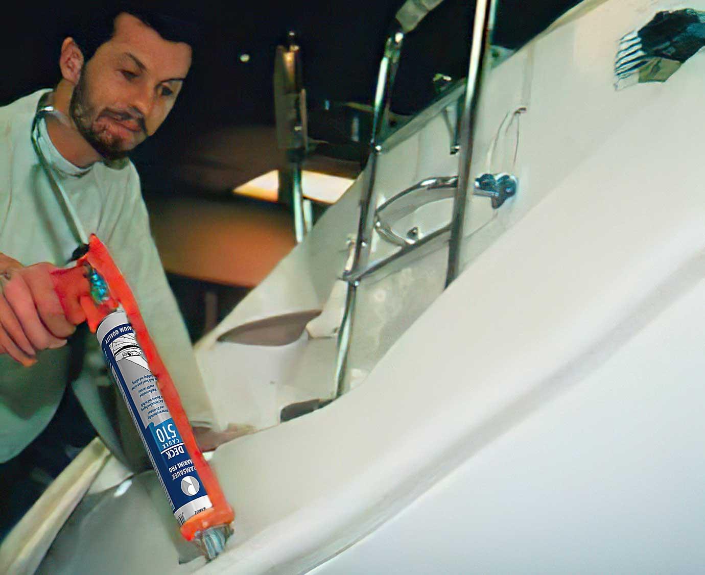 Лучшая серия герметиков для морского уплотнения