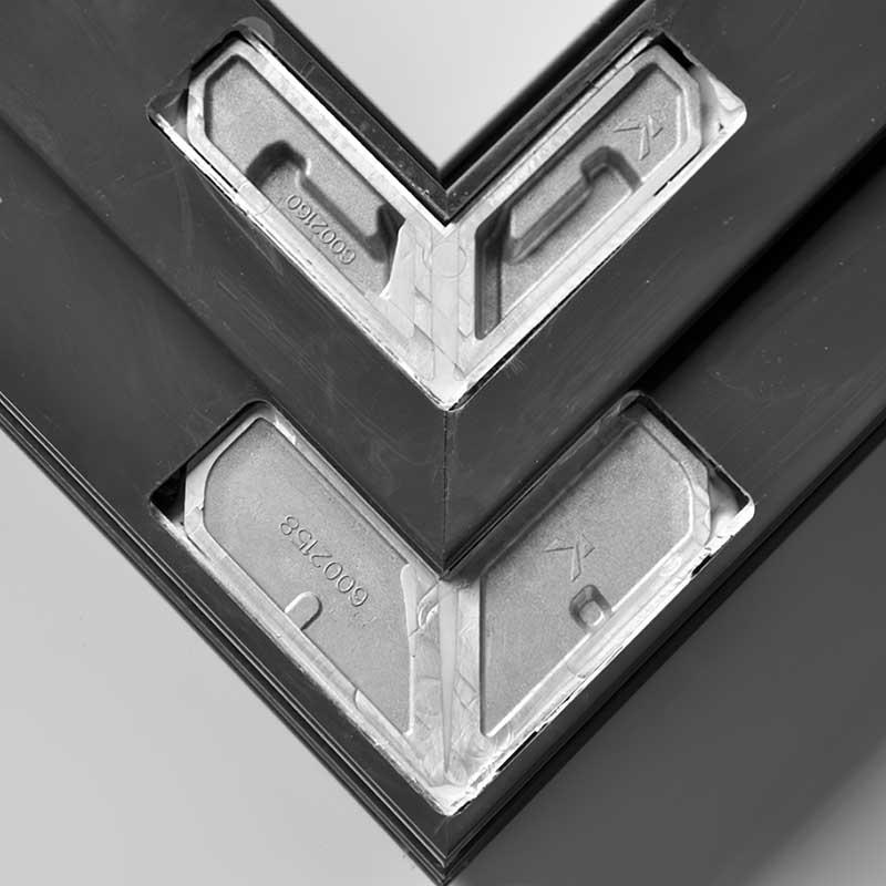 алюминиевый профиль и закладная
