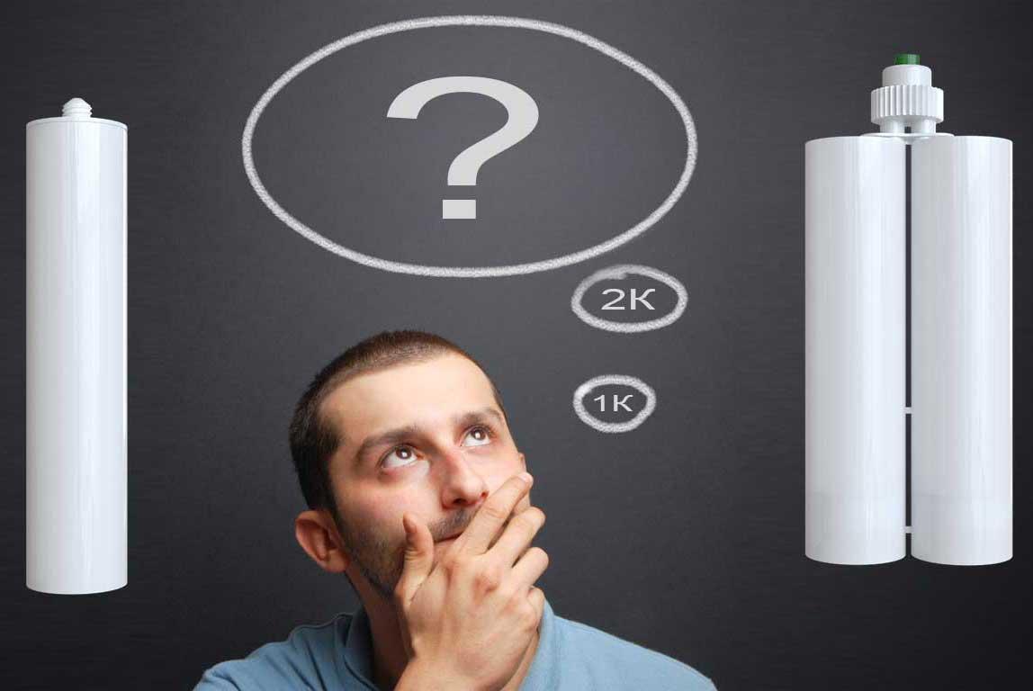 Когда применять однокомпонентный клей, а когда — двухкомпонентный?