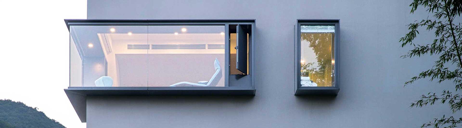 Окно на выносе