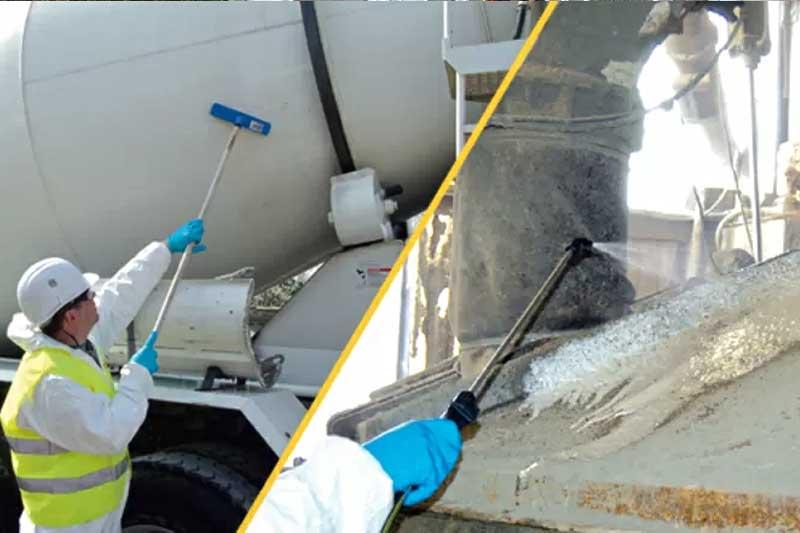 очистка цемента